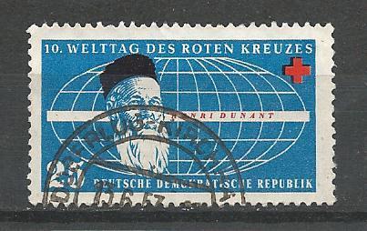 Germany DDR Used Scott #351 Catalog Value $.25