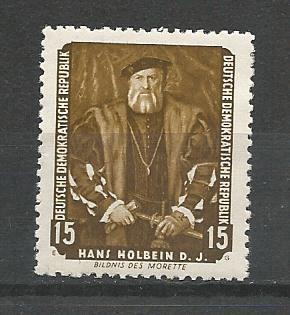 German DDR MNH Scott #357 Catalog Value $.30