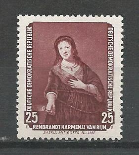 German DDR MNH Scott #359 Catalog Value $.30