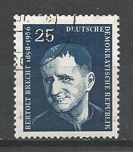 Germany DDR Used Scott #363 Catalog Value $.25