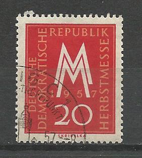 Germany DDR Used Scott #365 Catalog Value $.25