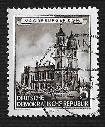 Germany DDR Used Scott #265 Catalog Value $.35