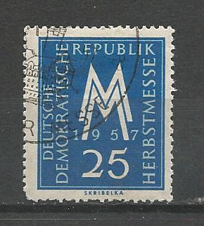 Germany DDR Used Scott #366 Catalog Value $.25