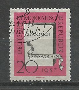 Germany DDR Used Scott #368 Catalog Value $.30