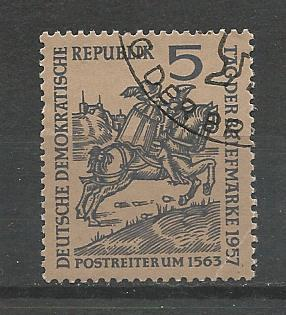 Germany DDR Used Scott #369 Catalog Value $.25