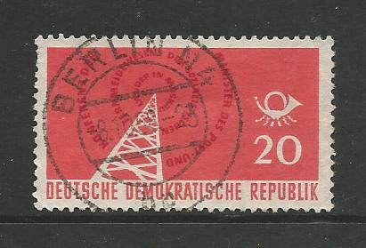 Germany DDR Used Scott #380 Catalog Value $.25