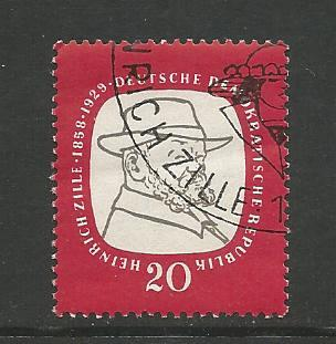 Germany DDR Used Scott #382 Catalog Value $.25