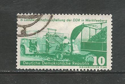 Germany DDR Used Scott #386 Catalog Value $.25