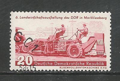 Germany DDR Used Scott #387 Catalog Value $.25