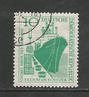 Germany DDR Used Scott #390 Catalog Value $.25