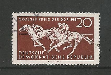 Germany DDR Used Scott #396 Catalog Value $.25