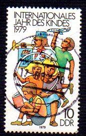 Germany DDR Used Scott #2013 Catalog Value $.25