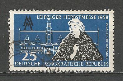 Germany DDR Used Scott #407 Catalog Value $.25