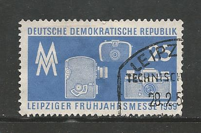 Germany DDR Used Scott #425 Catalog Value $.25