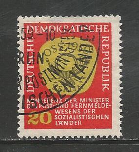 Germany DDR Used Scott #432 Catalog Value $.25