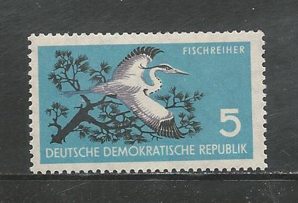 German DDR Hinged Scott #434 Catalog Value $.25
