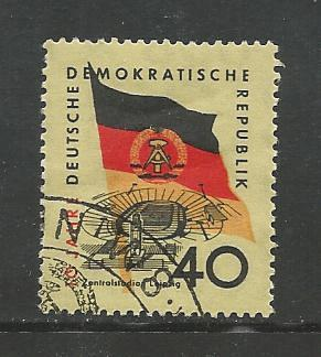 Germany DDR Used Scott #461 Catalog Value $.25