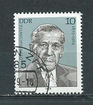 Germany DDR Used Scott #2042 Catalog Value $.25