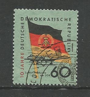 German DDR Used Scott #463 Catalog Value $.25