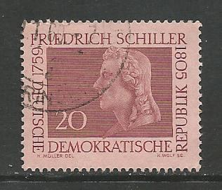 German DDR Used Scott #468 Catalog Value $.25