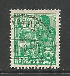German DDR Used Scott #476a Catalog Value $.40