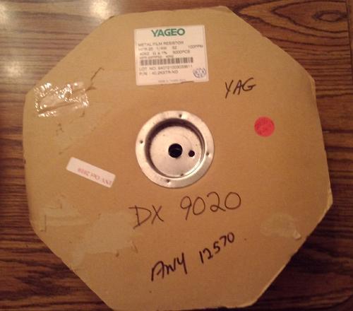 Lot of 2835 ?: Yageo 40.2KXTR-ND 1/4W Metal Film Resistors