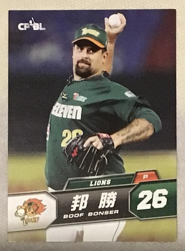 Boof Bonser 2014 , Taiwan baseball card