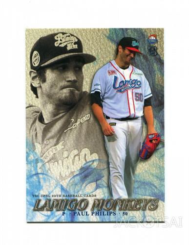 Paul Phillips 2015 TSC , Taiwan baseball card