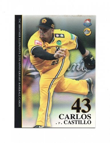 Carlos Castillo 2011 TSC , Taiwan baseball card