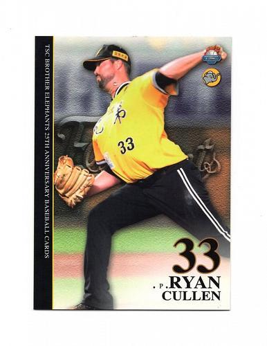 Ryan Cullen 2011 TSC , Taiwan baseball card