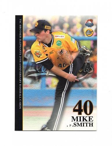 Mike Smith 2011 TSC , Taiwan baseball card