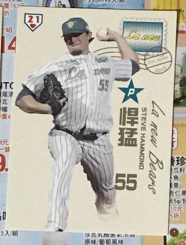 Steve Hammond 2011 , Taiwan baseball card