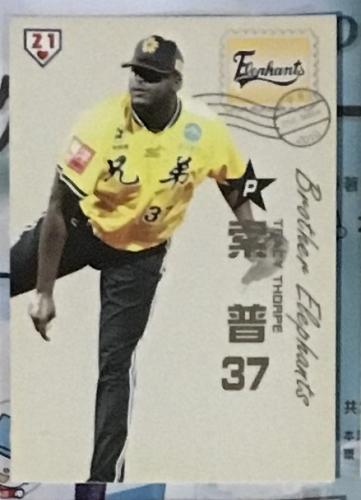 Tracy Thorpe 2011 , Taiwan baseball card