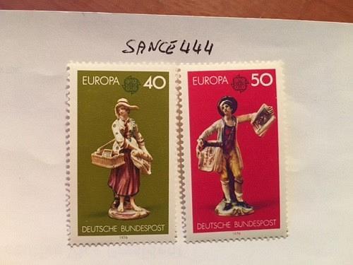 Germany Europa 1976 mnh