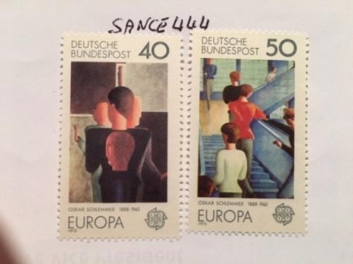 Germany Europa 1975 mnh