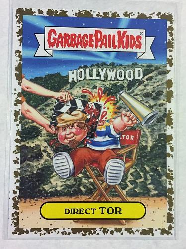 Garbage Pail Kids American AS Apple Pie 2016 Direct Tor 50/50 Gold Dust Border GPK