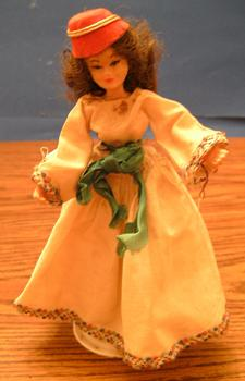 FLAGG DOLL :: Nationality Woman # 9 :: Greek Woman