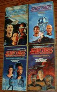 BIG BOX of Star Trek Books :: The Next Generation