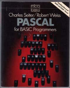 Lot of 2: Books from the '80s about PASCAL Programming