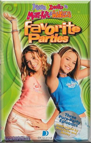 VHS - You're Invited To Mary-Kate & Ashley's Favorite Parties (2001) *3 Episodes*