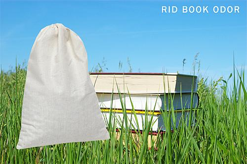 SMELLEZE Reusable Book Smell Removal Deodorizer Pouch: Rid Odor in 12 Books/Time