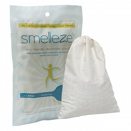 SMELLEZE Reusable Car Smell Removal Deodorizer Pouch: Remove Odor in Any Auto