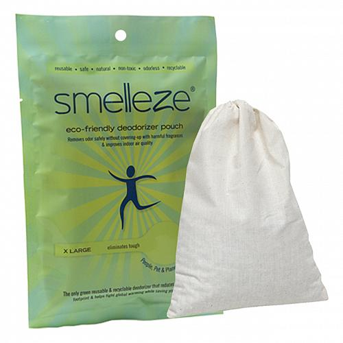 SMELLEZE Reusable Gym Smell Removal Deodorizer Pouch: Remove Odor in 300 Sq. Ft.