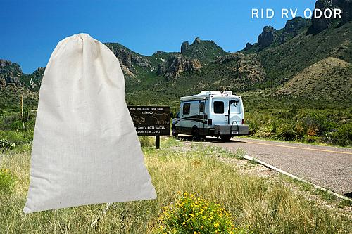 SMELLEZE Reusable RV & Camper Smell Removal Deodorizer Pouch: Rid Odor in Any RV