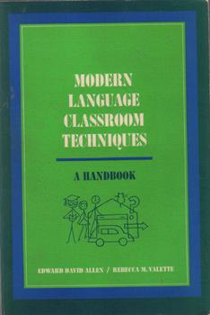 Modern Language Classroom Techniques :: Edward Allen :: FREE Shipping
