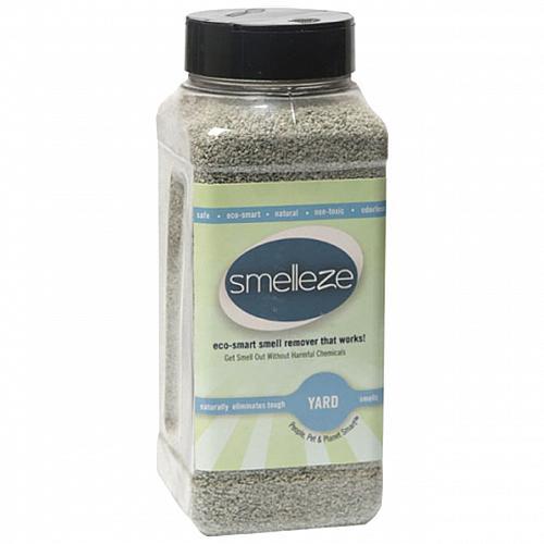 SMELLEZE Natural Yard Odor Eliminator: 2 lb. Granules Destroys Outdoor Smell