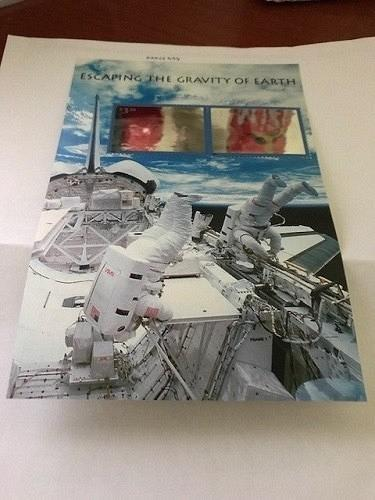 USA United States Escaping Gravity of Earth s/s mnh 2000