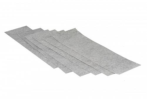 """SMELLRID Carbon Medical Odor Absorbent Pads: 6 (4""""x14"""") - Can be Cut-to-Fit"""
