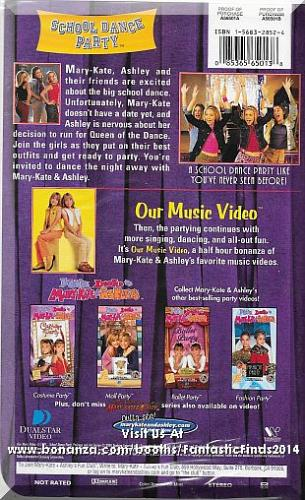 VHS - You're Invited To Mary-Kate & Ashley's School Dance Party (2000)