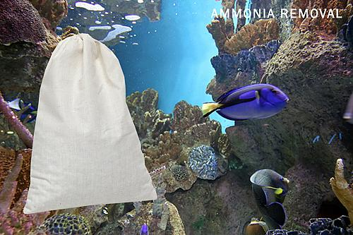 AMMOSORB Natural Aquarium Toxic Ammonia Eliminator Pouch: Large